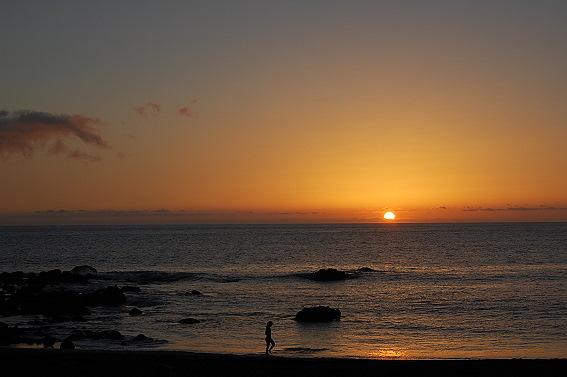 Sonnenuntergang auf La Gomera
