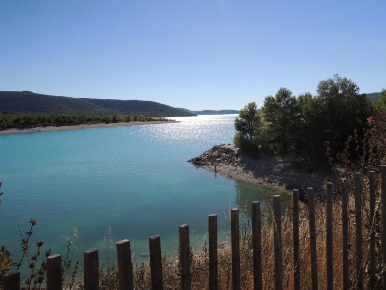 Blick auf den Lac de Sainte Croix