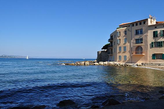 wunderschöner Hafen Sainte Tropez