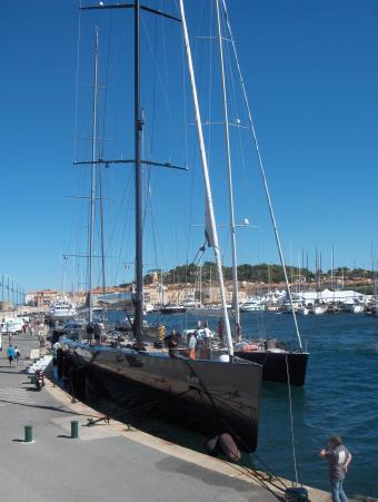 Hafen von Sainte Tropez