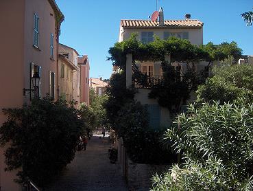 Altstadt von Sainte Tropez
